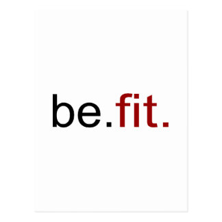 be fit postcard