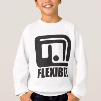 be flexible sweatshirt