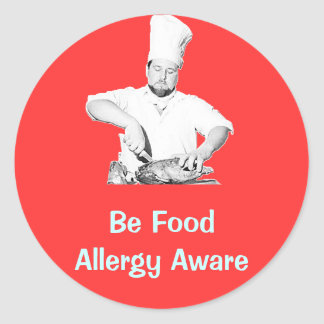 Food safety stickers zazzle - Stickers protection cuisine ...