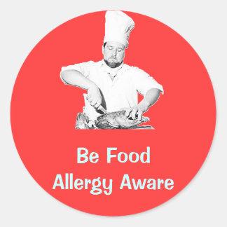 Be Food Allergy Aware - Sticker