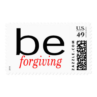 Be Forgiving Postage Stamp
