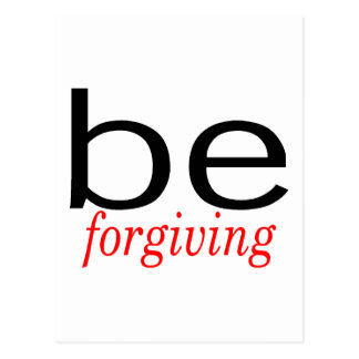 Be Forgiving Postcard