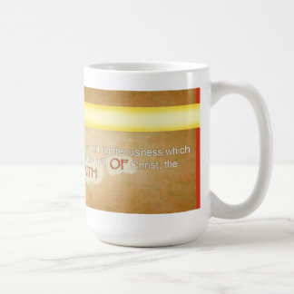 Be Found In His Righteousess Coffee Mug