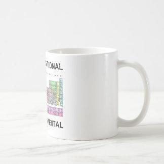 Be Foundational Think Elemental (Periodic Table) Coffee Mug