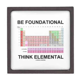 Be Foundational Think Elemental (Periodic Table) Premium Gift Box