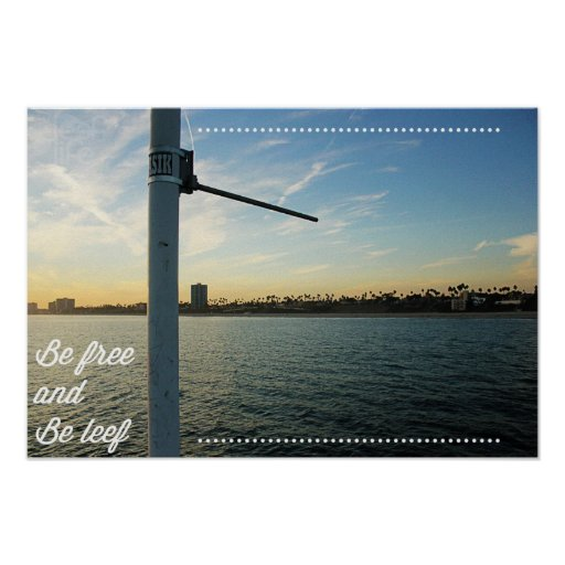Be Free and Be Leef Poster