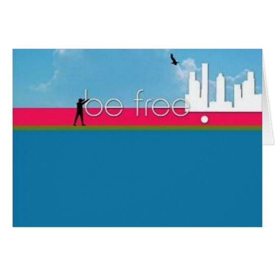 BE_FREE_by_mahirdemir Card