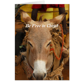 Be Free in Christ Card