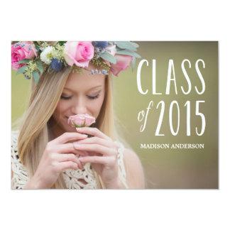 Be Free in Kelly Green   Graduation Invitation