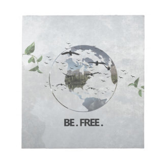 Be Free Note Pad