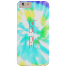 Be Free tie dye watercolor pastels hipster ikat Barely There iPhone 6 Plus Case