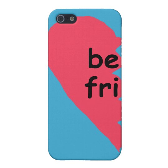 BE FRI Best Friends Half Cover For iPhone SE/5/5s
