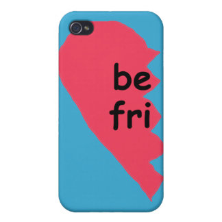 BE FRI Best Friends Half Covers For iPhone 4