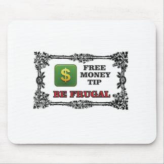 be frugal tip mouse pad