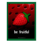 Be Fruitful... Postcard