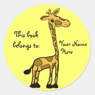 Very Funny Giraffe Stickers, Very Funny Giraffe Sticker Designs