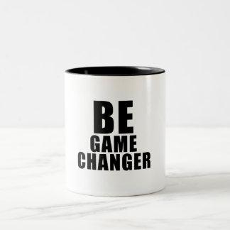BE game to changer Two-Tone Coffee Mug