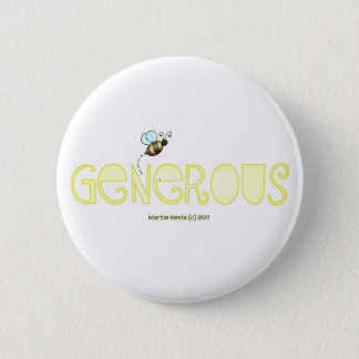 Be Generous - A Positive Word Button