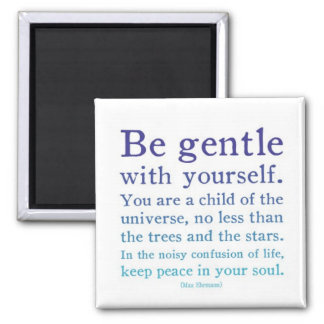 Be Gentle Fridge Magnets