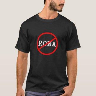 Be Gone Rona Virus T-Shirt