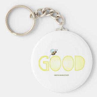 Be Good - A Positive Word Keychain
