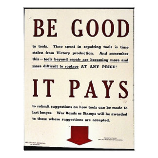 Be Good It Pays Flyers