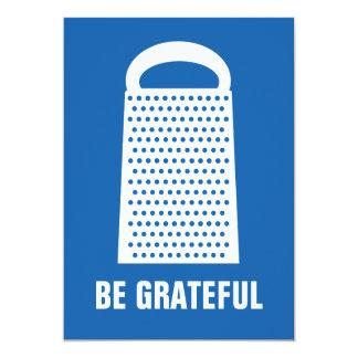 BE GRATEFUL FLAT CARD ANNOUNCEMENTS