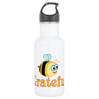 Be Grateful Water Bottle