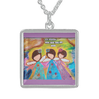 Be Greatful Sterling Silver Necklace