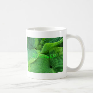 Be Green 1 Mugs