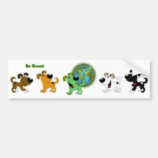 Be Green Bumper Sticker
