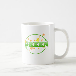Be Green Coffee Mug