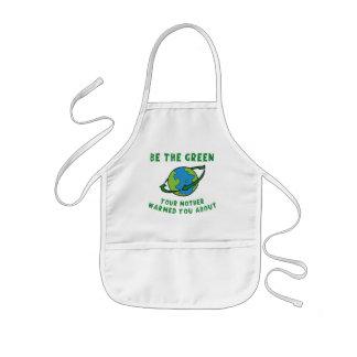 Be Green Kids' Apron