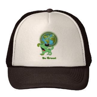 Be Green! (Leaf) Hats