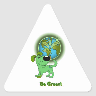 Be Green - Leaf Stickers