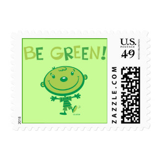 Be green! Postage Stamp