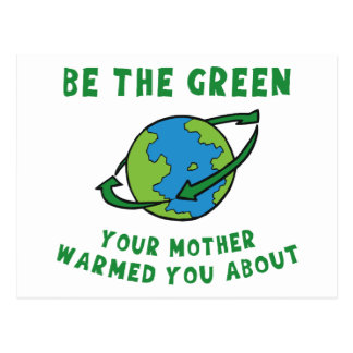 Be Green Postcards