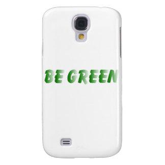 BE GREEN SAMSUNG GALAXY S4 CASE