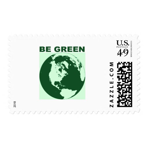 Be Green Stamp