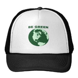 Be Green Trucker Hat