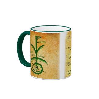 Be Greenwise Evolution mug