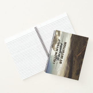 Be Guided By Intuition Notebook