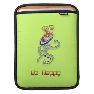 Be Happy Alien, Personalized Sleeve For iPads