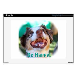 Be Happy!   Australian Shepherd Skin For Laptop