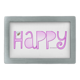 Be Happy - Belt Buckle