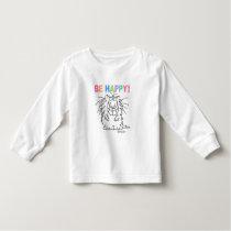 BE HAPPY! Boynton Toddler T-shirt