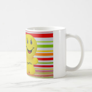 Be Happy duo White 11 oz Classic Mug