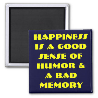 Be Happy Fridge Magnets