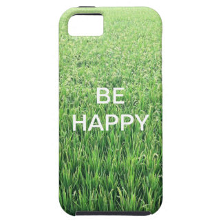 Be Happy Green Rice Field iPhone 5 Covers