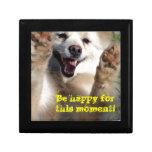Be Happy ! Keepsake Box